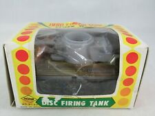 Yone Japan Disc Firing Tank tin toy