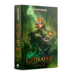 Gotrek Gurnisson: Gitslayer Hardback Warhammer Age of Sigmar by Darius Hinks NEW