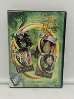 The Lord Of The Rings Fellowship Of The Ring Set One 4 CD Cards Cardz LOTR