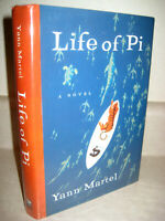 Life of Pi Yann Martel SIGNED 1st Edition First Printing Booker Prize Film Oscar