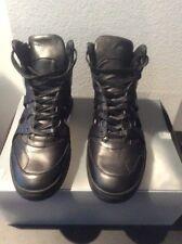 Alexander Mcqueen Puma Men's Shoes New In Box Size 10 Black Mcq Mid Open