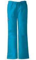 Cherokee Workwear Scrubs Women's Cargo Pants 4020 Caribbean Blue CARW