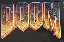 """Contorno de corte grande Pegatina Calcomanía Doom 6"""" largo Xbox 360 GB Atari"""