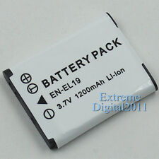 1200mAh Replacement For Nikon EN-EL19 Battery For Nikon S3100 S4100 S2500 Camera
