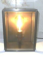 NEW SQUARE BOX LIGHT WEATHERED EFFECT BOXED