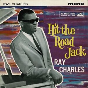 RAY CHARLES Hit The Road Jack EP Vinyl Record Single 7 Inch HMV 1962 R&B Soul