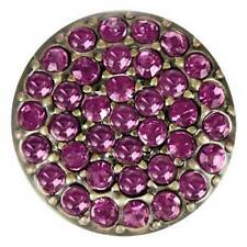 Ginger Snaps BRASS RITZY - AMETHYST SN07-42 FREE $6.95 Snap w/ Purchase of Any 4