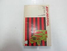 1953 1976 Chilton Jeep Universal Repair Specs Do-It-Yourself Maintenance Manual