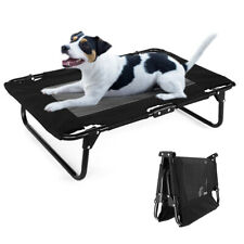Raised Pet Bed Elevated Dog Garden Bed Camping Cot Indoor Outdodor Waterproof