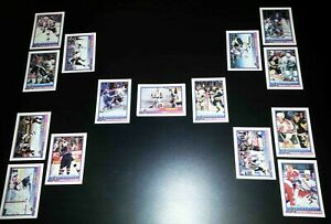 1992-93 Bowman Stanley Cup Playoffs Tree Pittsburgh Penguins Finals Recap Champs
