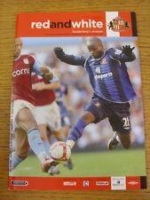 04/10/2008 Sunderland v Arsenal  (Excellent Condition)