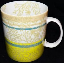 2008 Starbucks Zen Tea Leaf Vine Lime Green Coffee Mug Cup 14 ounce