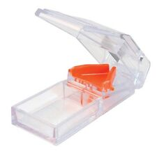 Apex Deluxe Pill Splitter Cutter Medicine Medication Storage Compartment Box Cut