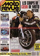 MOTO REVUE 3059 HARLEY DAVIDSON 1340 Fat Boy YAMAHA 850 TDM Olivier JACQUE 1992
