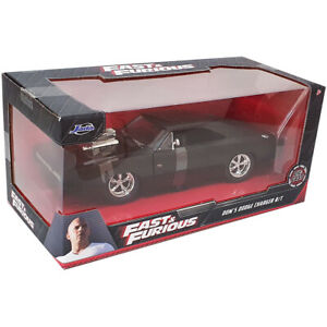 Jada Toys Fast & Furious Die-Cast Dom's Dodge Charger R/T Car Model Scale 1:24