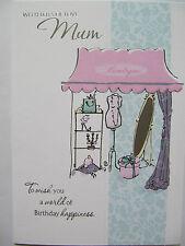 Compras en la boutique lots Of Love Mamá colorido Cumpleaños tarjeta de saludo