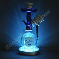 Don Julio Blanco .750L Bottle Hookah with LED Stand