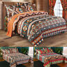 New Luxury Bohemian Mandala Bedding Set Duvet Cover Soft Quilt Cover Double King