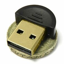 USB Bluetooth Dongle Adpater Tiny for PC Laptop 32 & 64 bit Windows Vista 7 8 10