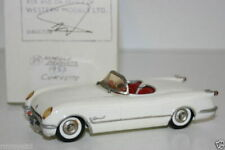 WESTERN MODELS MIKE STEPHENS 1st PROTOTYPE MODEL - MARQUE PRODUCTS 1953 CORVETTE