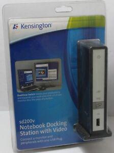 Kensington SD200V Notebook Docking Station w/ Video K33415US