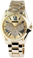 Excellanc Damenuhr Gold Blau Chrono-Look Analog Metall Armbanduhr X151004000015