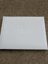 Wedding Guest Book, Birthday, Christening, Party - Guestbook White & Silver