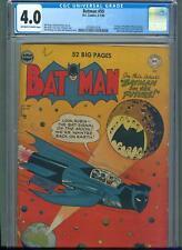 Batman #59 (Jun-Jul 1950, DC) CGC 4.0 ** 1st Appearance of Deadshot ** Joker **
