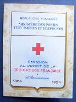 carnet croix rouge , 1864-1964 , neuf  ,bon état