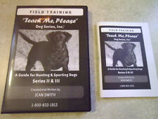 Teach Me Please Dog Field Training for Hunting Sporting DVD & Booklet Jean Smith