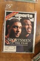 SPORTS ILLUSTRATED 2003 Sportsmen of the Year Tim Duncan-David Robinson
