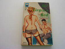 THE VIRGIN'S BED  1963  JEAN LE MANS   HORNY READY FOR ACTION COVER  FINE-