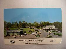 Vintage Photo Postcard Sherry Courts & Restaurant Nashville Tennessee Unused
