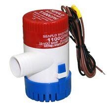 12 Volt 1100 GPH Seaflo Elektrische Bilgepumpe 4164 L/min Lenzpumpe