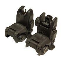 Magpul Industries MBUS Front & Rear Sight Set - MAG247 and MAG248 - BLACK