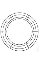 """14"""" Lot of 24 Round Metal Wreath Frame Ring Diy Macrame Floral Crafts Wire Form"""