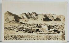 Tonopah Nevada RPPC View Real Photo Postcard O12