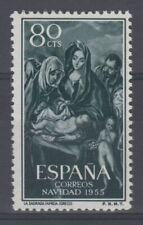 ESPAÑA (1955) MNH NUEVO SIN FIJASELLOS SPAIN - EDIFIL 1184 NAVIDAD