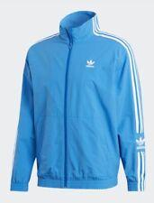 New Adidas Mens XXL originals Lock up Track top jacket blue bird ED6093