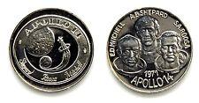 Medaglia 1971 Apollo 14 E.D. Mitchell -A.B. Shepard - S.A. Roosa Argento 925