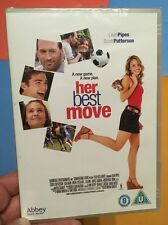 Her Best Move-Leah Pipes Scott Paterson(R2 DVD)New+Sealed Female Soccer Football