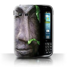 STUFF4 Case/Cover for Samsung Galaxy Chat/B5330/Inner Peace/Zen Statue