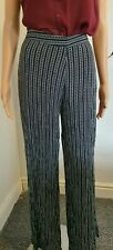 Pull and bear white and black trouser size L