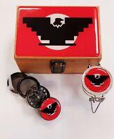 Stash Bamboo Box Set Huelga Bird Chicano Chicana  Design, Large Size