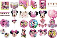 Minnie Mouse Birthday Party Decorations, Table Wear Children BBQ Summer