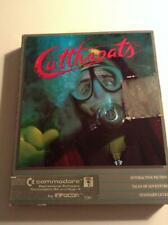 Commodore 64 Vintage Cutthroats Computer Game Complete