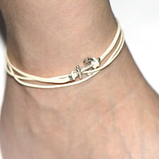 Jewelry anchor Charm Bohemia Foot Bracelet Whtie Ankelts For Women Girl Summer