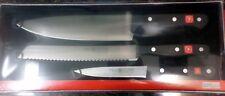 Wusthof  Gourmet set  From Solingen Germany  #9575-4 Messersatz  3 Pc. Knife Set