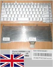 Clavier Qwerty UK Pour Medion Akoya Series Gris /Silver , Model: HMB891-L10