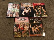 BROTHERS AND SISTERS SEASONS 1-5 DVDS, VG-GREAT SHAPE